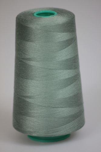 Niť KORALLI polyesterová 120, 5000Y, odtieň 5150, zelená