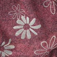 Kostýmovka vínová, béžový květ, š.145