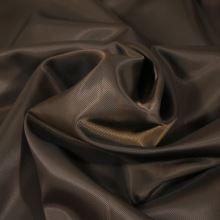Podšívka tmavě hnědá, šikmý proužek, š.150