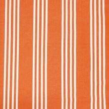 Lehátkovina oranžová, bílé pruhy, š.45