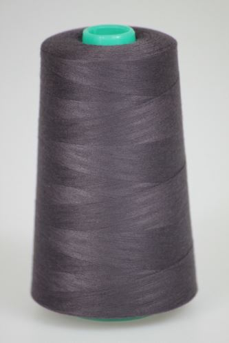 Nit KORALLI polyesterová 120, 5000Y, odstín 4490, hnědá