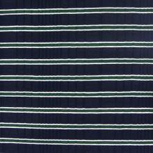 Úplet modrý, zeleno-biely pruh, š.125