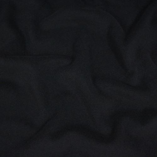 Flauš s kašmírem, černý š.150