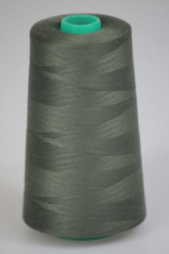 Niť KORALLI polyesterová 120, 5000, odtieň 6780, zelená