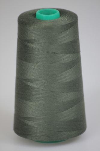 Niť KORALLI polyesterová 120, 5000Y, odtieň 6780, zelená
