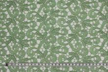 Krajka světle zelená 15487, š.135