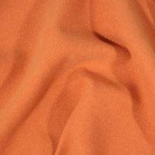 Flauš oranžový s elastanem, š.145