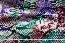 Úplet barevný 15370, zvířecí vzor š.145