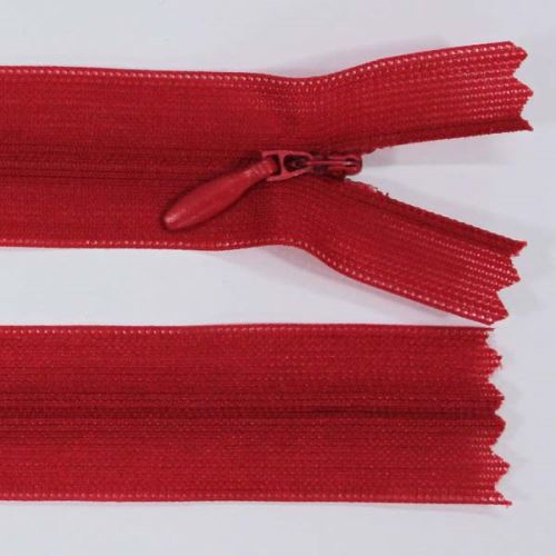 Zip skrytý šatový 3mm délka 20cm, barva 148
