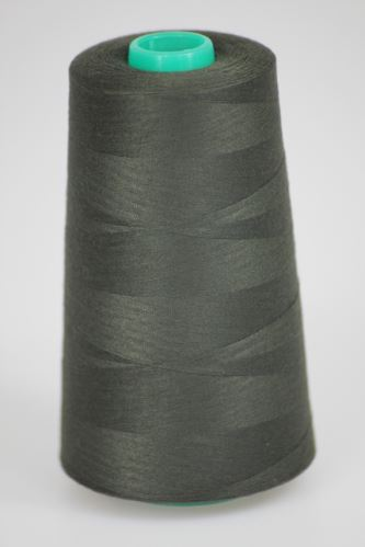 Niť KORALLI polyesterová 120, 5000, odtieň 6990, čierna-hnedá