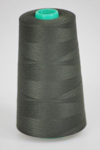 Niť KORALLI polyesterová 120, 5000Y, odtieň 6990, čierna-hnedá