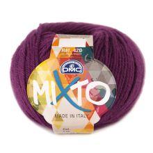Příze MIXTO 50g, vínovofialová - odstín 062