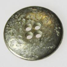 Gombík strieborný K36-15, priemer 23 mm.