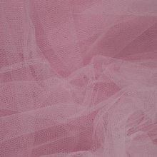 Tyl závojový svetlo ružový š.180