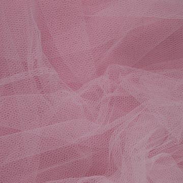 Tyl závojový světle růžový š.180
