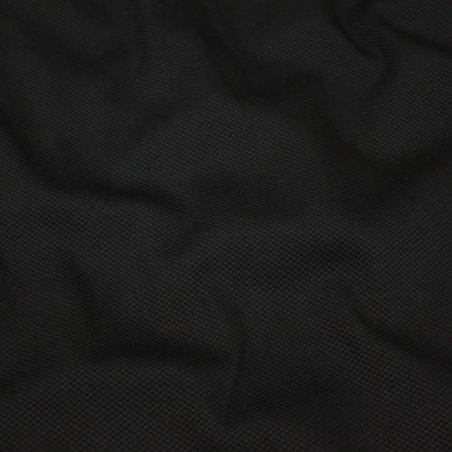 Bavlna černá piké, š.145