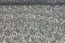 Šifon 10879 šedý, zvířecí vzor, š.150