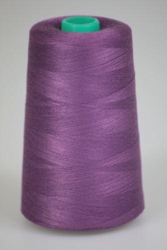 Nit KORALLI polyesterová 120, 5000Y, odstín 4560, fialová