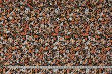 Úplet oranžovo-žlto-šedý, drobný kvet š.150