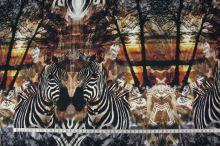 Úplet hnědožlutý, zebry, š.155