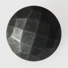 Knoflík šedá patina K32-6, průměr 20 mm.