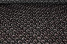 Šatovka černá, drobný šedo-vínový květ, š.150