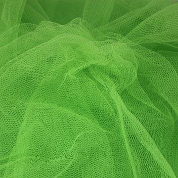 Tyl závojový zelenožlutý š.180