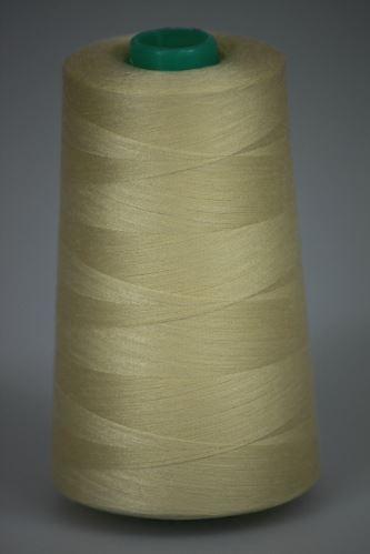 Niť KORALLI polyesterová 120, 5000Y, odtieň 1140, béžová