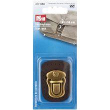Zapínanie, pracka Prym Tuck lock na tašky, 40x55 mm