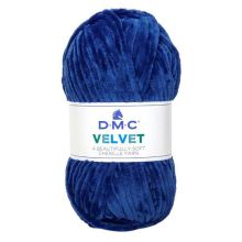 Příze VELVET 100g, modrá - odstín 012