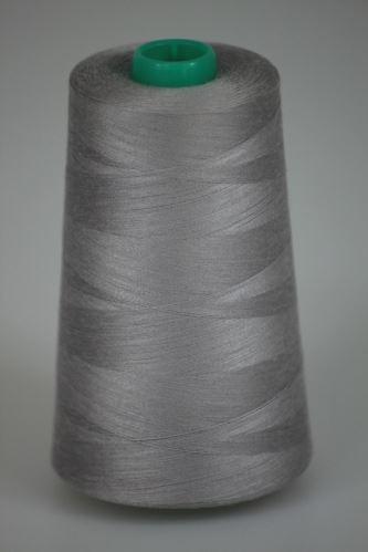Niť KORALLI polyesterová 120, 5000Y, odtieň 9245, šedá