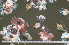 Šatovka khaki, květ, š.150