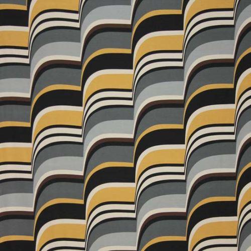 Úplet šedý 08150, žlutohnědý vzor š.155