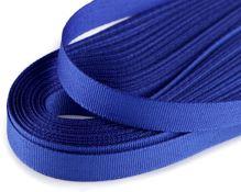 Stuha taftová královsky modrá, šíře 9mm, 10m