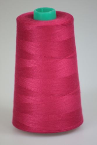 Niť KORALLI polyesterová 120, 5000, odtieň 3630, ružová