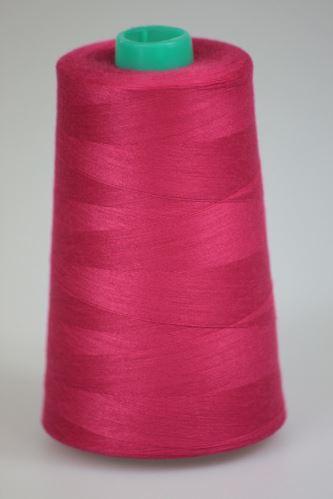 Niť KORALLI polyesterová 120, 5000Y, odtieň 3630, ružová