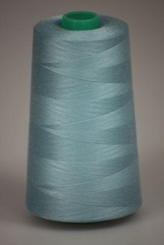 Niť KORALLI polyesterová 120, 5000Y, odtieň 5320, modrá