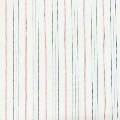 Košeľovina 06629 biela, farebný pruh, š.120