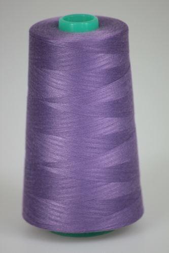 Niť KORALLI polyesterová 120, 5000Y, odtieň 4590, fialová