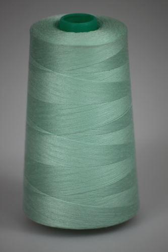Niť KORALLI polyesterová 120, 5000Y, odtieň 6140, zelená