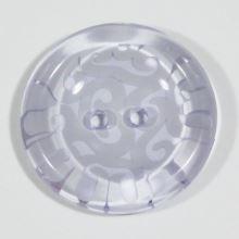Knoflík lila, průměr 27 mm