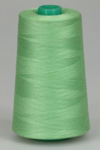 Niť KORALLI polyesterová 120, 5000Y, odtieň 6130, zelená