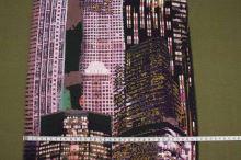 Úplet zelený 14602, vzor mrakodrap š.150