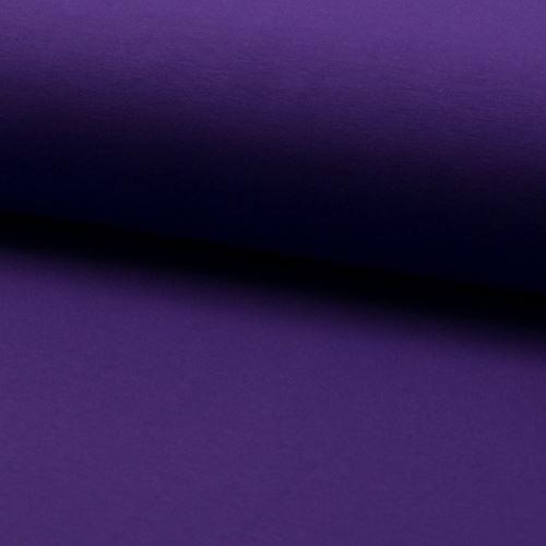 Teplákovina počesaná, fialová, š.155
