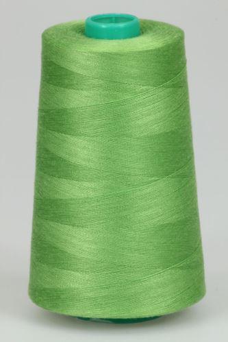 Niť KORALLI polyesterová 120, 5000, odtieň 6355, zelená