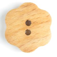 Knoflík dřevěný 231609, 15mm