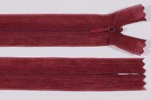 Zip skrytý šatový 3mm délka 20cm, barva 178