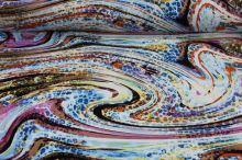 Úplet 15784, barevný vzor š.145
