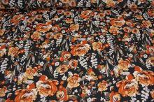 Šatovka čierna, oranžový kvet š.145