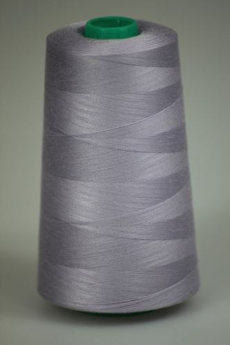 Niť KORALLI polyesterová 120, 5000, odtieň 4135, fialová-šedá
